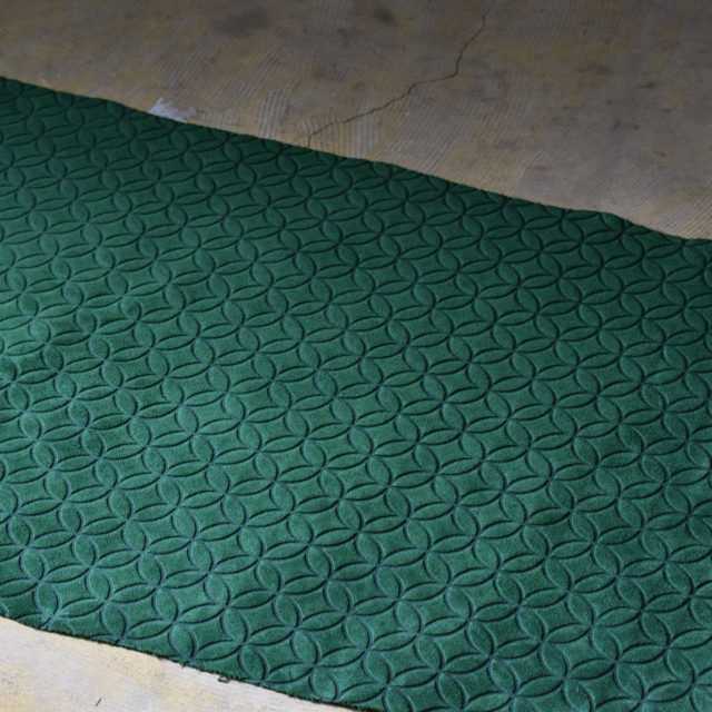 VELOUR J-RING GARDEN GREEN