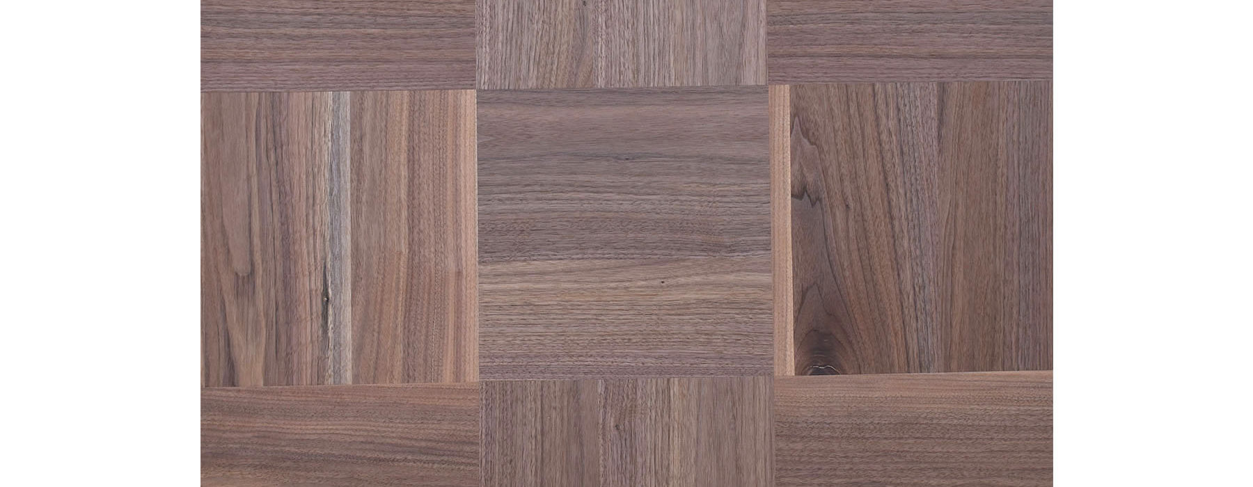 SQUARES WALNUT ROUGH